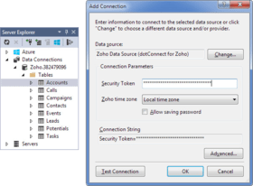 dotConnect for Zoho CRM V1.10.1127