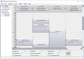 MindFusion.Scheduling for WinForms 5.8