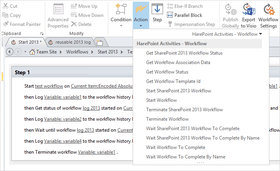 HarePoint Workflow Extensions for SharePoint 2.17