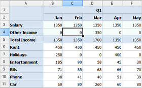 MindFusion.Spreadsheet for WinForms V1.7.1