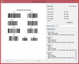 Dynamsoft Barcode Reader 7.5