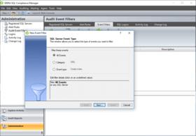 SQL Compliance Manager v5.8