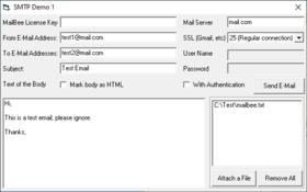 MailBee Objects SMTP v9.3