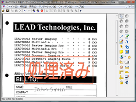 LEADTOOLS Document Imaging(日本語版)19.0J SP6