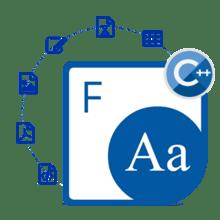 Aspose.Font for C++ V20.11
