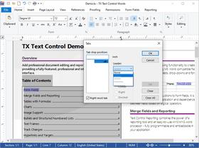 TX Text Control ActiveX Standard X19