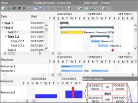 DlhSoft Gantt Chart Hyper Library for HTML5 Standard Edition 5.3.17