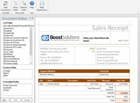 SharePoint Document Maker v1.6.0.1203