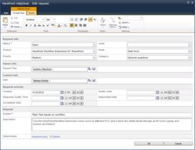 HarePoint HelpDesk for SharePoint v16.9