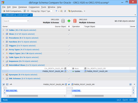 dbForge Schema Compare for Oracle V4.3.11