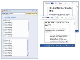 BCGControlBar Library Professional Edition MFC v31.1