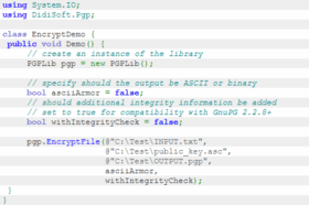 OpenPGP Library for .NET v1.9.3.21