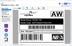 Neodynamic ThermalLabel SDK for .NET 10.0.21.325