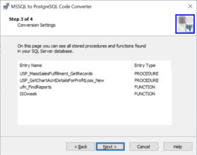 SQL Server to PostgreSQL Code Converterがリリースされました