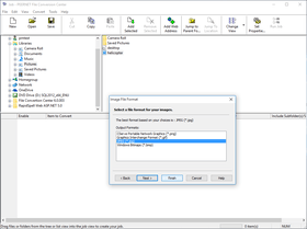 PEERNET File Conversion Center 6.0.012