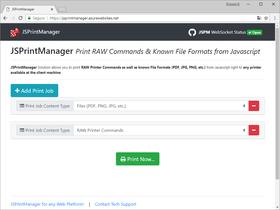 Neodynamic JSPrintManager 4.0