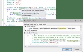 PHP Tools for Visual Studio v1.55.13902