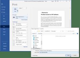 Raster Image Printer 12.0.007