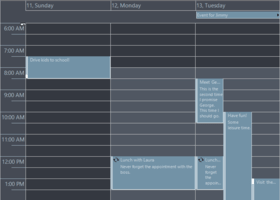 MindFusion.Scheduling for WPF V3.5.1