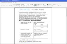 LEADTOOLS Document Suite SDK v22