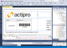 Actipro Bar Code for Silverlight released