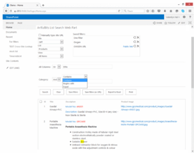 List Search Web Part released