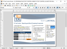 TX Text Control ActiveX Professional X14