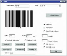 dlSoft updates Active Barcode Component