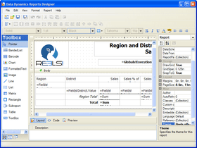 Data Dynamics Reports supports .NET 4.0