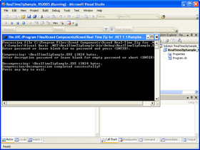 Xceed Real-Time Zip adds VS2010 support
