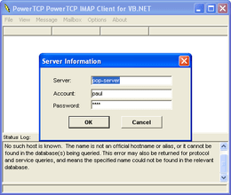 PowerTCP Mail for ActiveX supports SSL