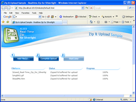 Real-Time Zip adds Silverlight 4 support
