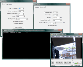 H.264 Encoder adds YUYV, UYUV and RGB24