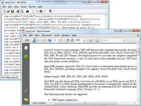Xml2PDF adds Excel to PDF support