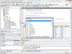 Altova DatabaseSpy 2011 adds charting