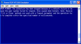 PowerTCP Emulation supports all DEP OSs