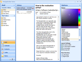 WPF Navigation adds Office 2010 themes