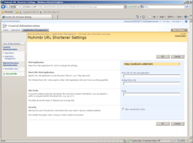 URL Shortener supports SharePoint 2010