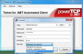 PowerTCP Telnet updates Connect method