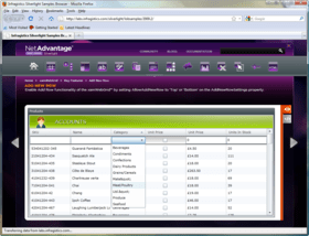 NetAdvantage for Silverlight LOB adds Word library