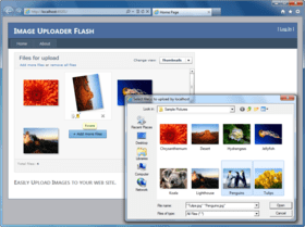 Image Uploader Flash 7.2.9 released