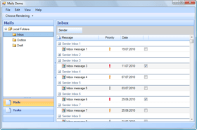 PFGrid Toolkit WinForms .NET improves Metro UI