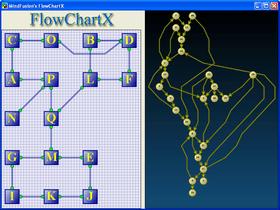FlowChartX adds FractalLayout tree algorithm