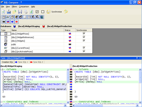 SQL Compare 10 adds table mapping