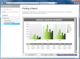 NetAdvantage Reporting adds HTML5 Report Viewer