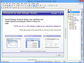 GUI Design Studio improves Data Handling