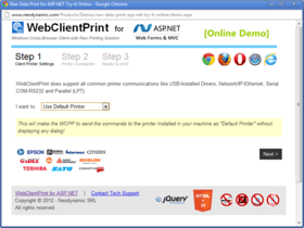 WebClientPrint for ASP.NET improves Printing