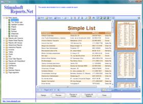 Stimulsoft Reports adds Report Designer for WinRT