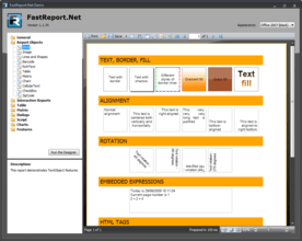 FastReport.Net improves Exporting