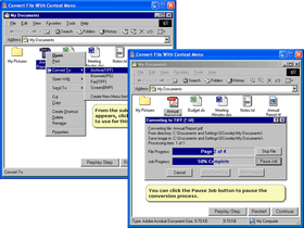 PEERNET File Conversion improves Compatibility